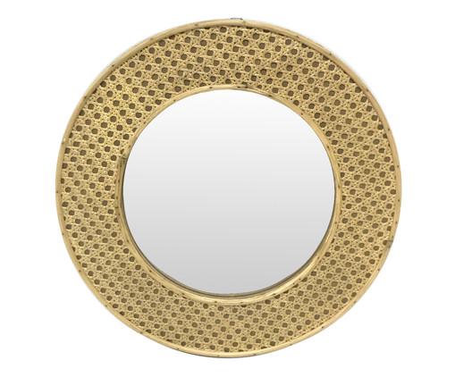 Espelho de Parede de Treliça Elai - Bege, Bege, Espelhado | WestwingNow