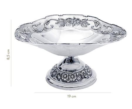 Fruteira de Metal Sofistic Manea Silver - Prateada | WestwingNow