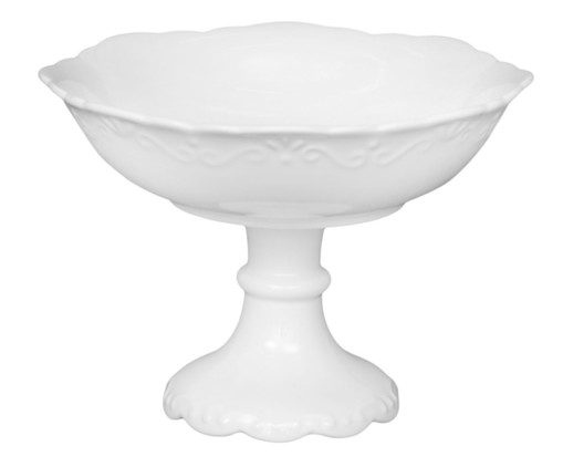 Fruteira em Porcelana Relevo, Branco | WestwingNow