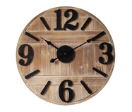 Relógio de Parede Estella - Marrom e Preto | WestwingNow