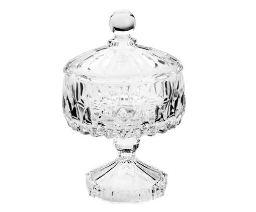 Bomboniere com Pé em Cristal Lu - Transparente, Transparente | WestwingNow