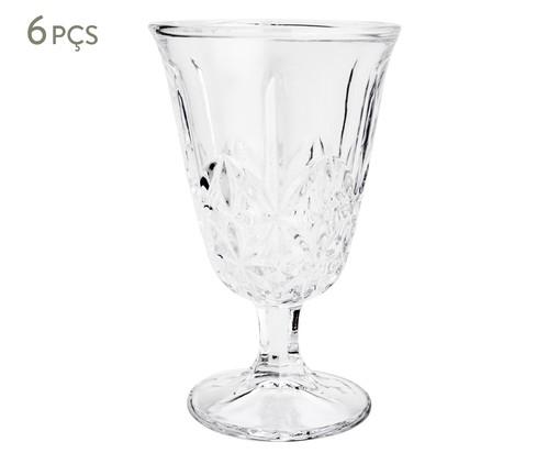 Jogo de Taças para Drinks em Vidro Avi - Transparente, Transparente | WestwingNow