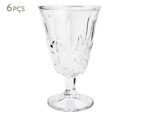 Jogo de Taças para Drinks em Vidro Avi - Transparente | WestwingNow
