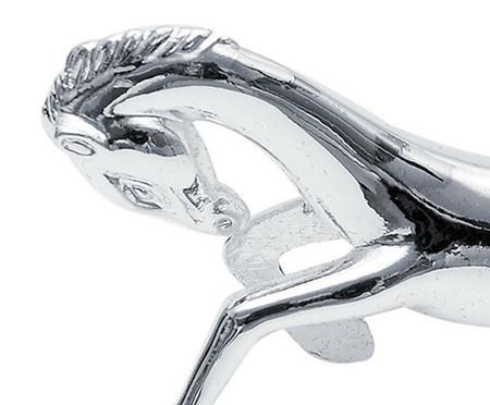 Jogo de Descansos para Talheres em Metal Cavalo - Prata | WestwingNow