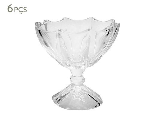Jogo de Taças em Cristal Sky - Transparente, Transparente | WestwingNow