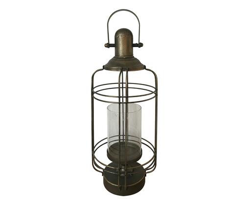 Lanterna Gabriela - Acobreada, Preto | WestwingNow