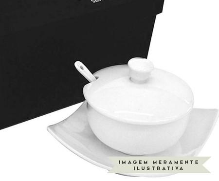 Açucareiro em Porcelana Jade - Branco | WestwingNow
