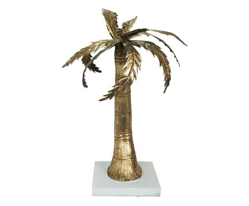 Adorno Phillips de Palmeira em Resina - Dourado, Dourado | WestwingNow