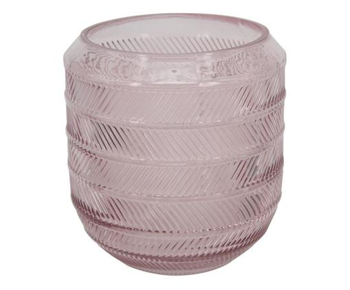 Vaso de Vidro Pierce - Rosa, Rosa | WestwingNow