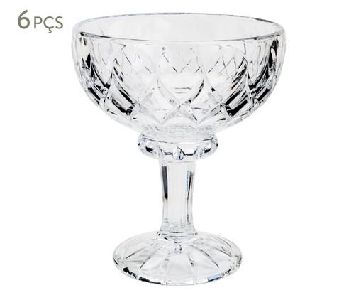 Jogo de Taças em Cristal para Sobremesa Angel - Transparente, Transparente | WestwingNow