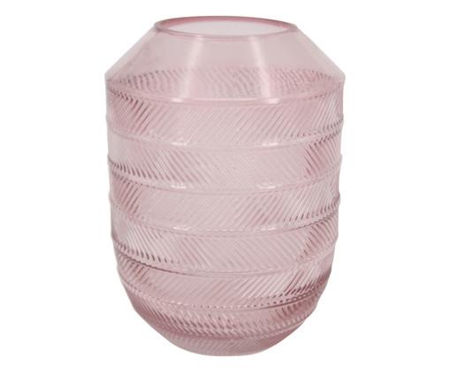 Vaso de Vidro Igapi - Rosa, Rosa | WestwingNow