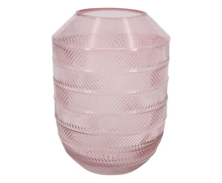 Vaso de Vidro Igapi - Rosa | WestwingNow