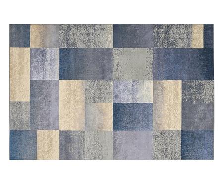 Tapete Geométrico Supreme Quadros - Azul | WestwingNow