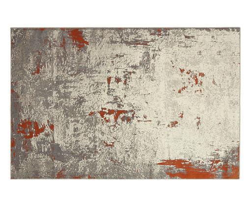 Tapete Supreme Virtual, Cinza e Vermelha | WestwingNow