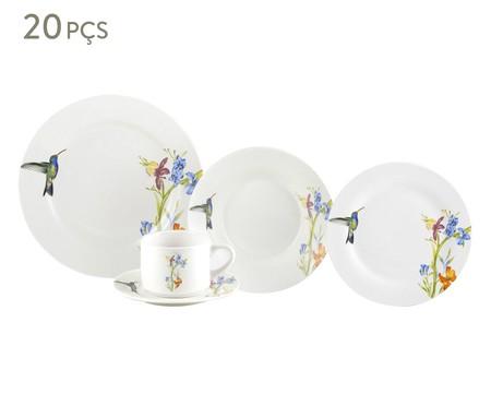 Jogo de Jantar em Porcelana Liz  - 04 Pessoas | WestwingNow