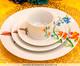 Jogo de Jantar em Porcelana Liz Branco - 04 Pessoas, Branco | WestwingNow
