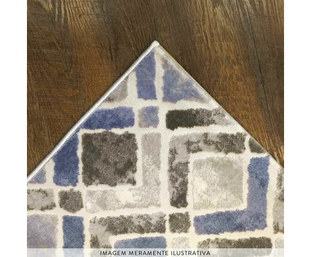 Tapete Geométrico Majestic Anna - Azul | WestwingNow