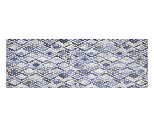Tapete Passadeira Majestic Anna - Azul, Azul | WestwingNow