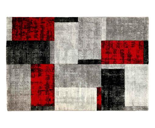 Tapete Fuji - Vermelho e Preto, Vermelho, Preto e Cinza | WestwingNow