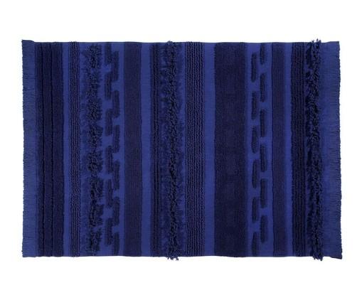 Tapete Ar Azul em Algodão Natural - Azul, Azul | WestwingNow