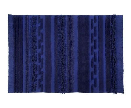 Tapete Ar Azul em Algodão Natural - Azul | WestwingNow