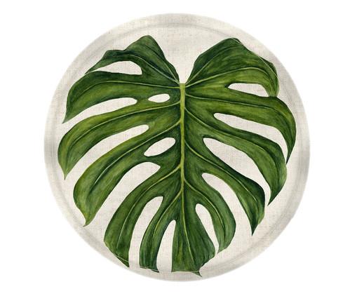 Lugar Americano em Linho Adão - Estampado, Branco,verde | WestwingNow