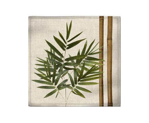 Guardanapo em Linho Misto Jade - Estampado, Branco | WestwingNow