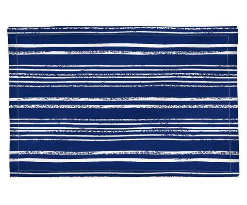 Lugar Americano Ocean - Estampado, Azul,Branco | WestwingNow