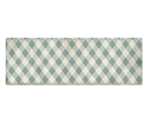 Caminho de Mesa em Linho Misto Leli, Azul,Branco | WestwingNow