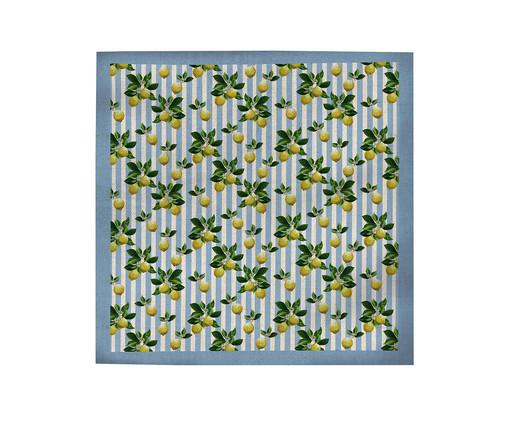 Toalha de Mesa em Linho Misto Cloe - Estampado, Multicolorido | WestwingNow