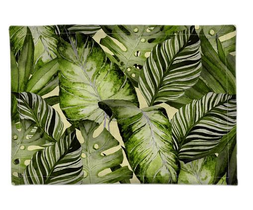 Lugar Americano em Linho Lore - Verde, Verde | WestwingNow