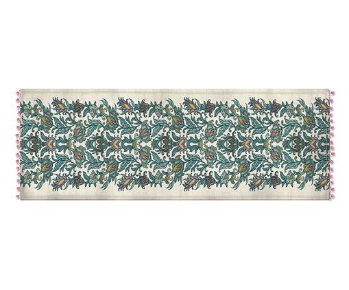 Caminho de Mesa em Linho Nelm - Estampado, Multicolorido | WestwingNow
