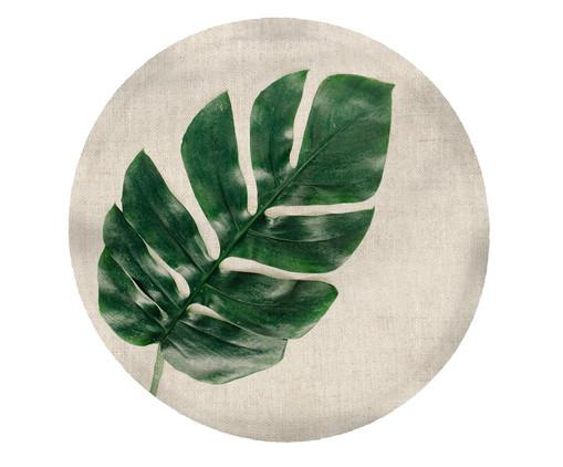 Lugar Americano Rosangela - Estampado, Branco,verde | WestwingNow