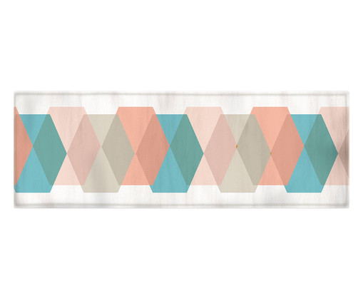 Caminho de Mesa Tina - Colorido, Multicolorido | WestwingNow