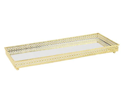 Bandeja Michael - Dourada, Dourado, Espelhado | WestwingNow