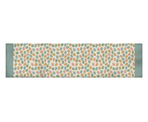 Caminho de Mesa em Linho Misto Funny - Estampado, Multicolorido   WestwingNow
