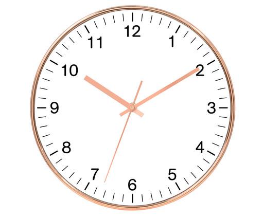 Relógio de Parede Rosalinda - Branco, Branco, Rosé | WestwingNow