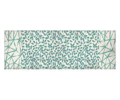 Caminho de Mesa em Linho Misto Dean - Estampado, Multicolorido | WestwingNow