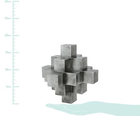 Adorno Decorativo de Resina Geométrico Wilson - Prata | WestwingNow