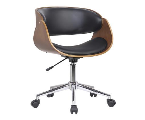 Cadeira de Escritório com Rodízios Avice - Preta, Preto | WestwingNow