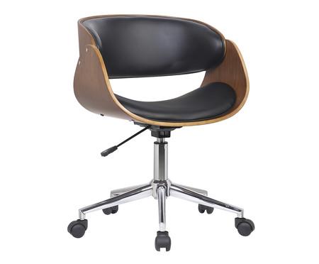 Cadeira de Escritório com Rodízios Avice - Preta | WestwingNow