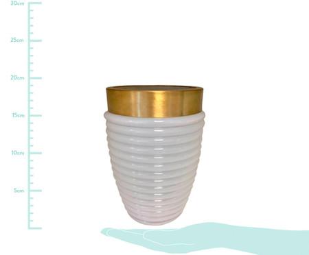 Vaso  Colar Cone - Branco | WestwingNow