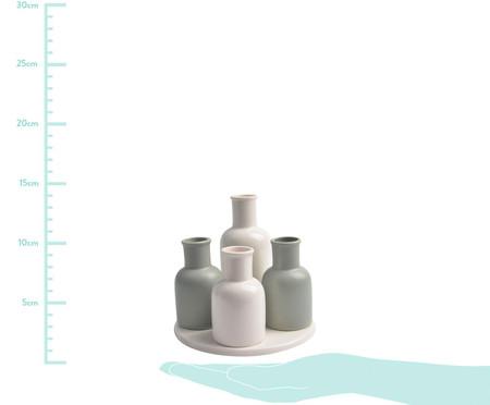 Jogo de Vasos em Porcelana Cute - Branco | WestwingNow
