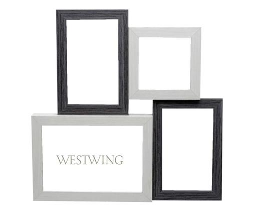 Porta-Retrato Mutiple Forms, Cinza | WestwingNow