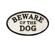 Placa Decorativa Be Ware Of The Dog | WestwingNow