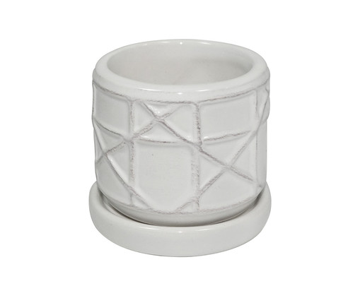 Cachepot Straight - Branco, Branco | WestwingNow