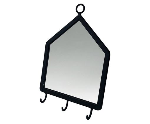 Espelho com Gancho Home Mirror - Preto, Preto | WestwingNow