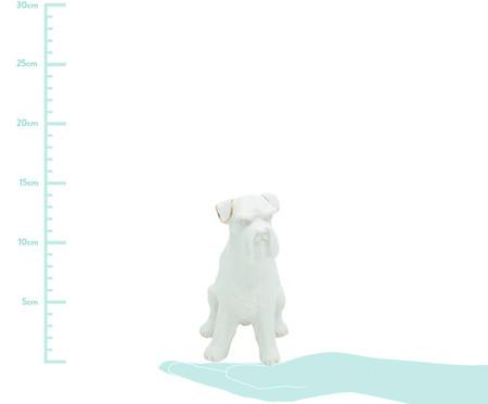 Adorno em Porcelana Schnauzer Dog  - Branco | WestwingNow