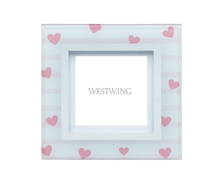 Porta-Retrato My Love - Branco | WestwingNow
