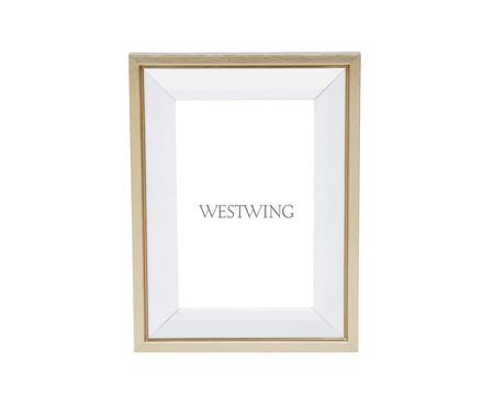 Porta-Retrato Moments - Dourado | WestwingNow